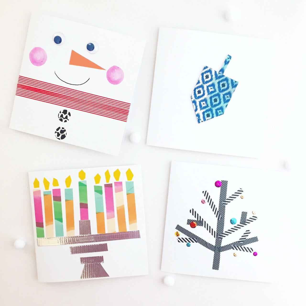 Washi Tape Cards 1