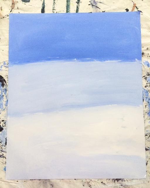 Polar Bear Value Painting 3