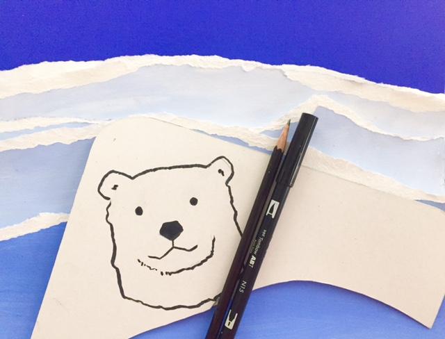 Polar Bear Value Painting 6