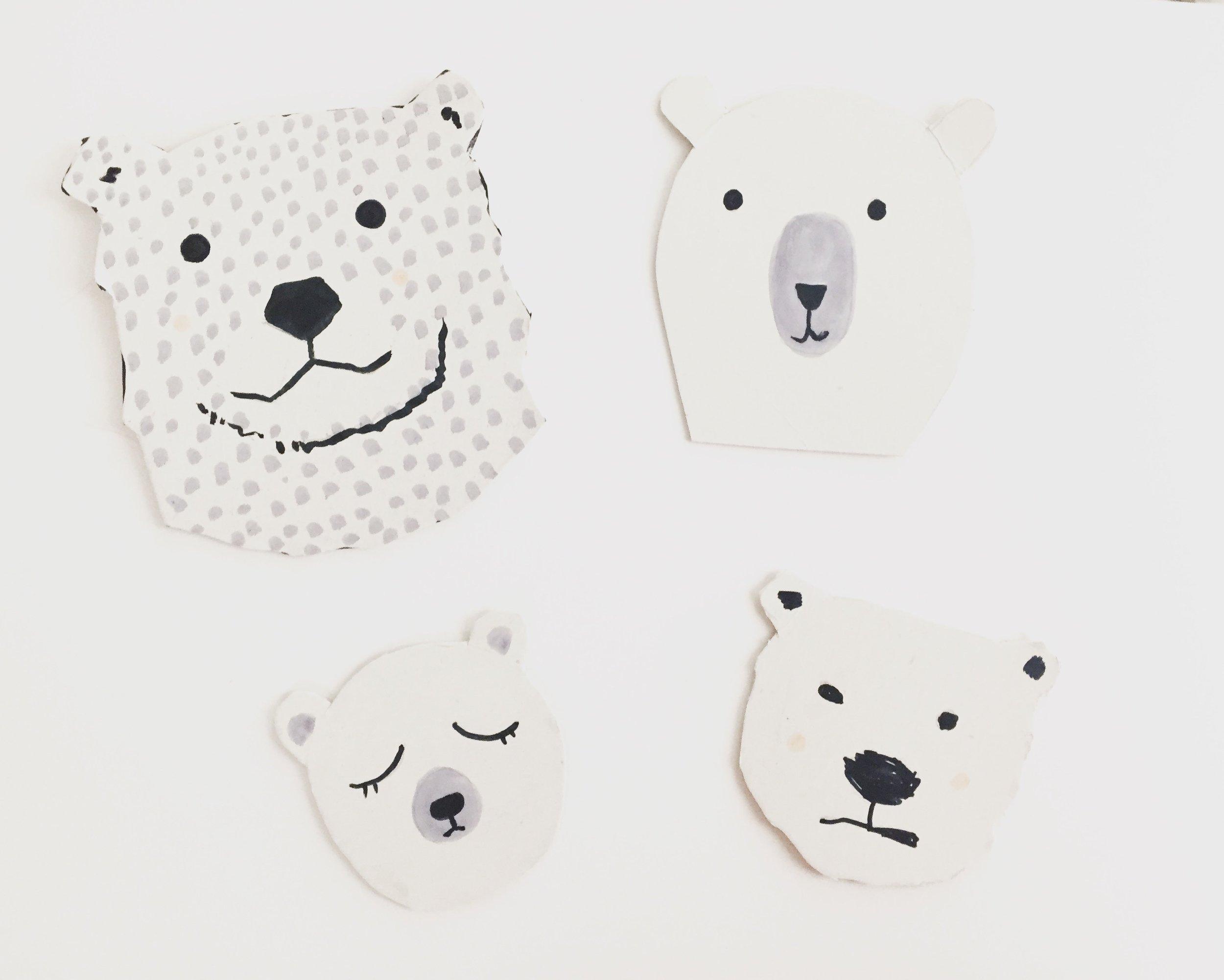 Polar Bear Value Painting 7