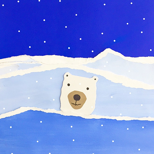 Polar Bear Value Painting 8