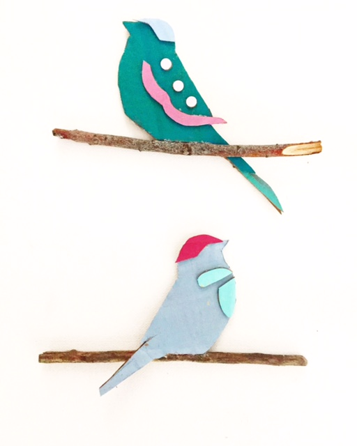 Cardboard Cars + Birds on Branches 6