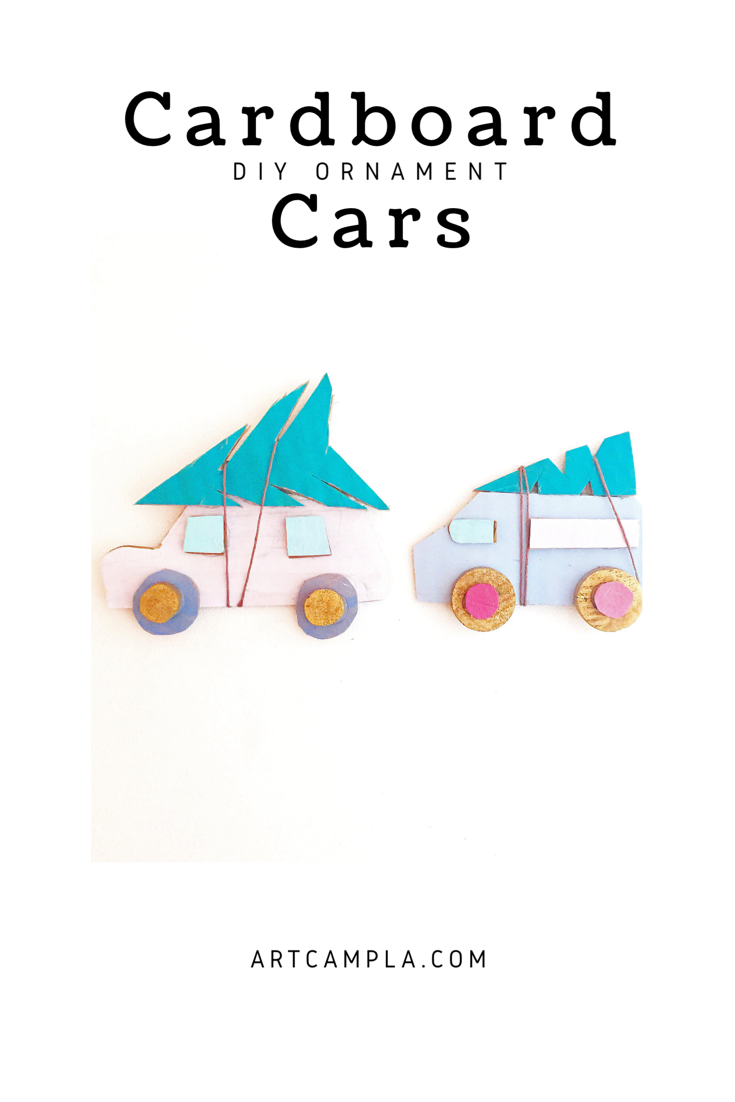 Cardboard Cars + Birds on Branches 9
