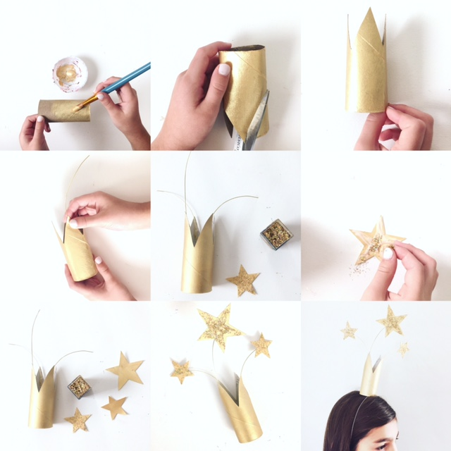 DIY New Year's Eve Crowns 2