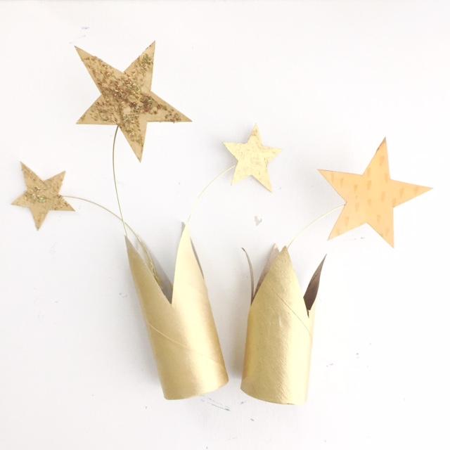 DIY New Year's Eve Crowns 5