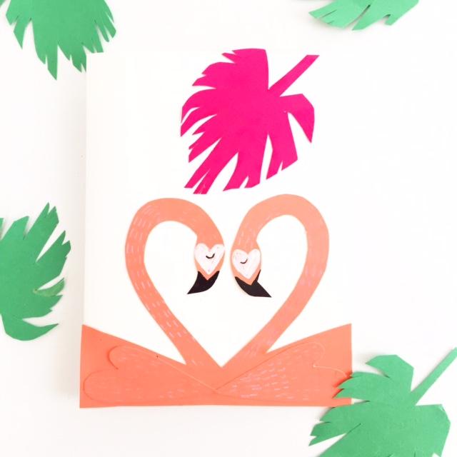 Flamingo Valentine 1