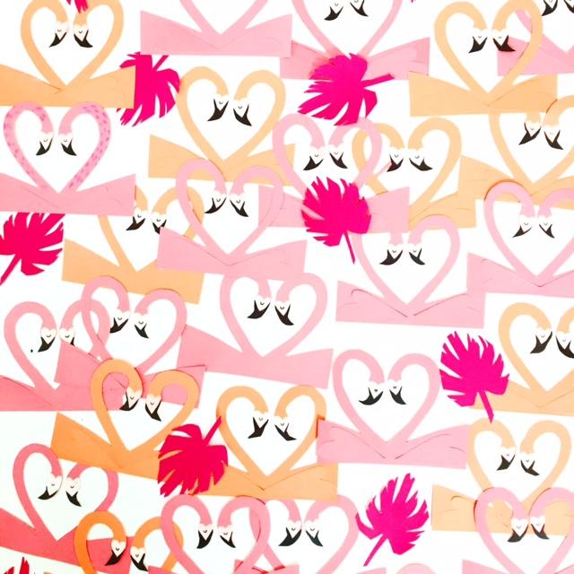 Flamingo Valentine 3