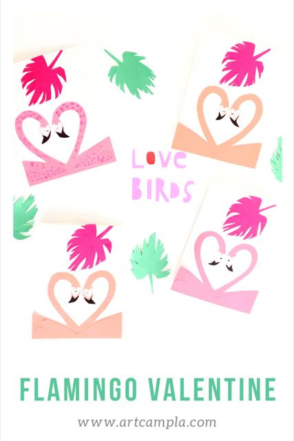 Flamingo Valentine 9