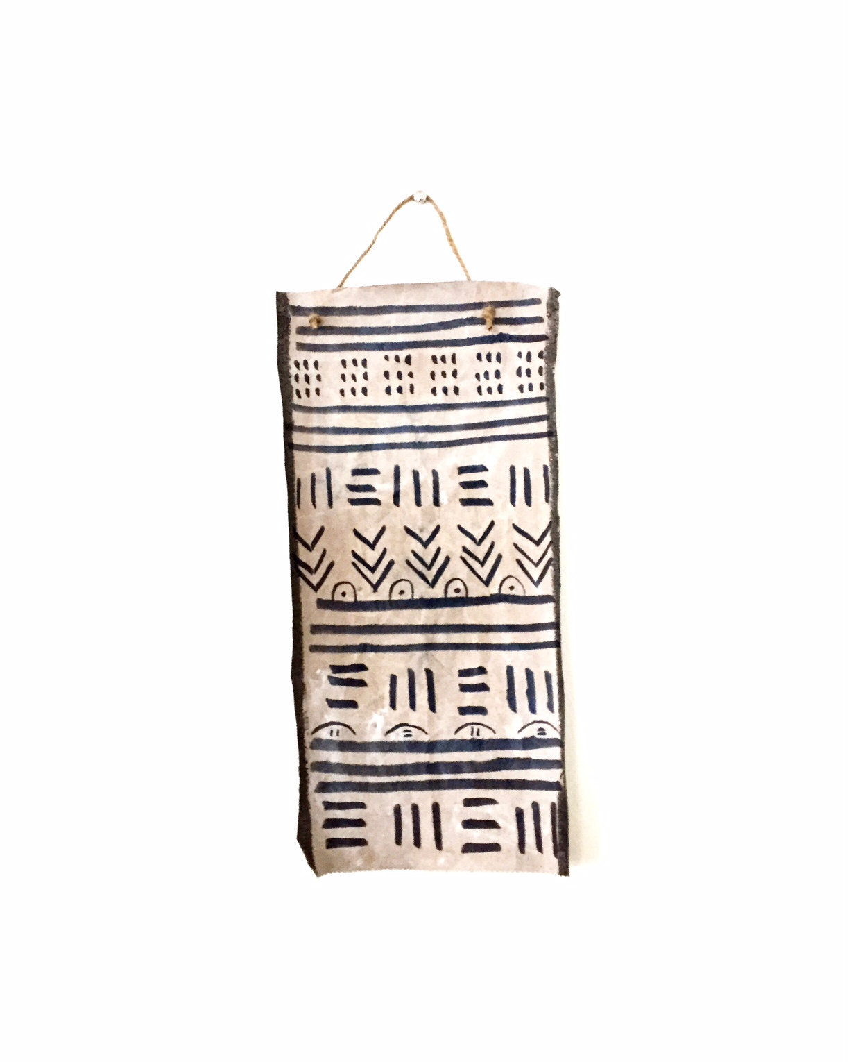 DIY Mud Cloth Wall Hanging 5