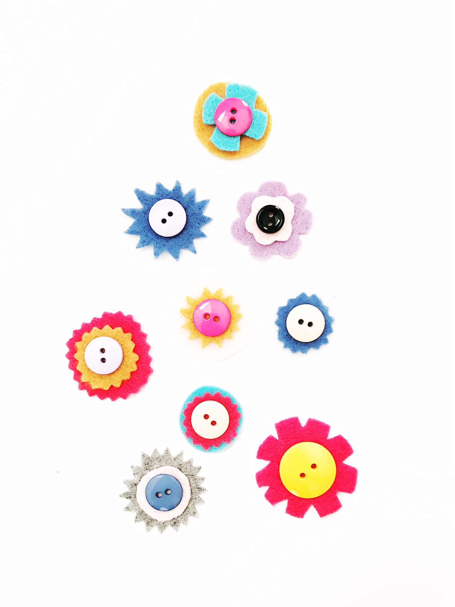 DIY Button Rings 4