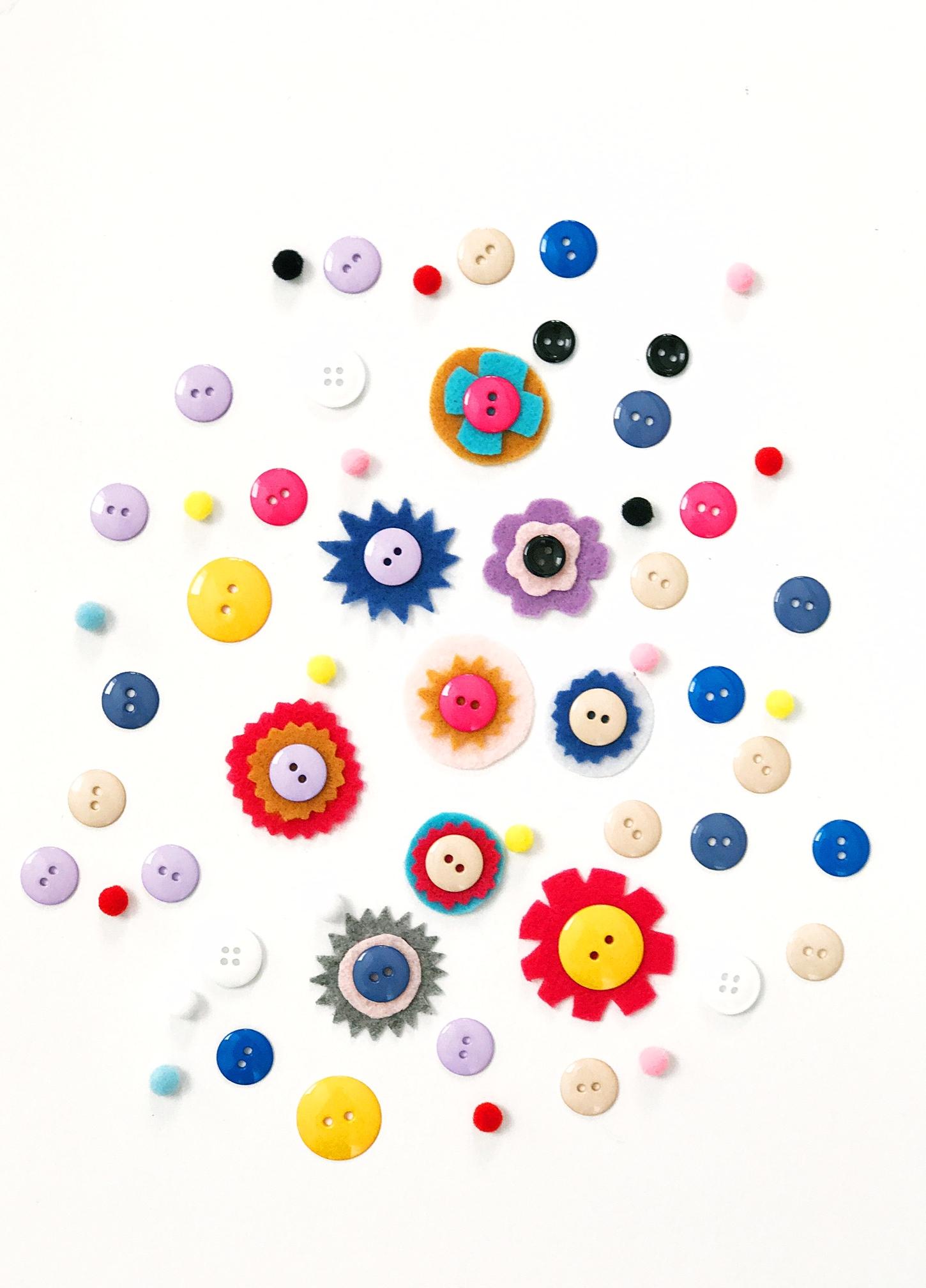 DIY Button Rings 2