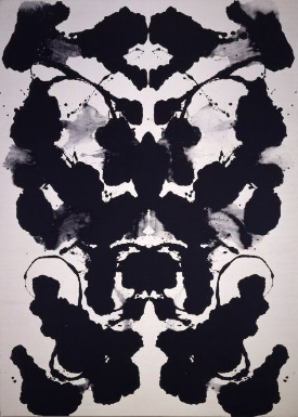 Andy Warhol,  Rorschach , 1984,  Acrylic on linen