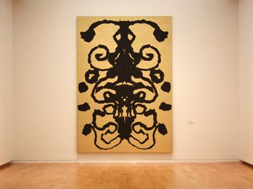 Andy Warhol, Rorschach, 1984,  Acrylic on linen