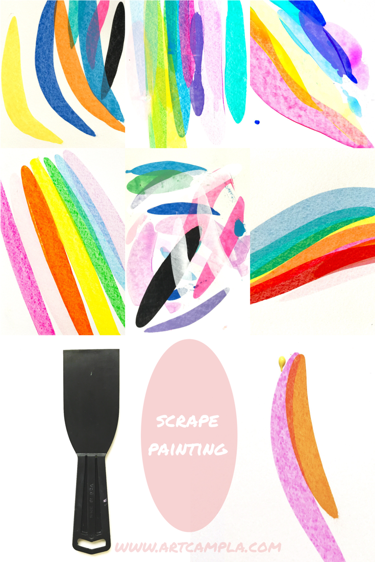 Rainbow Chalk Duster 8