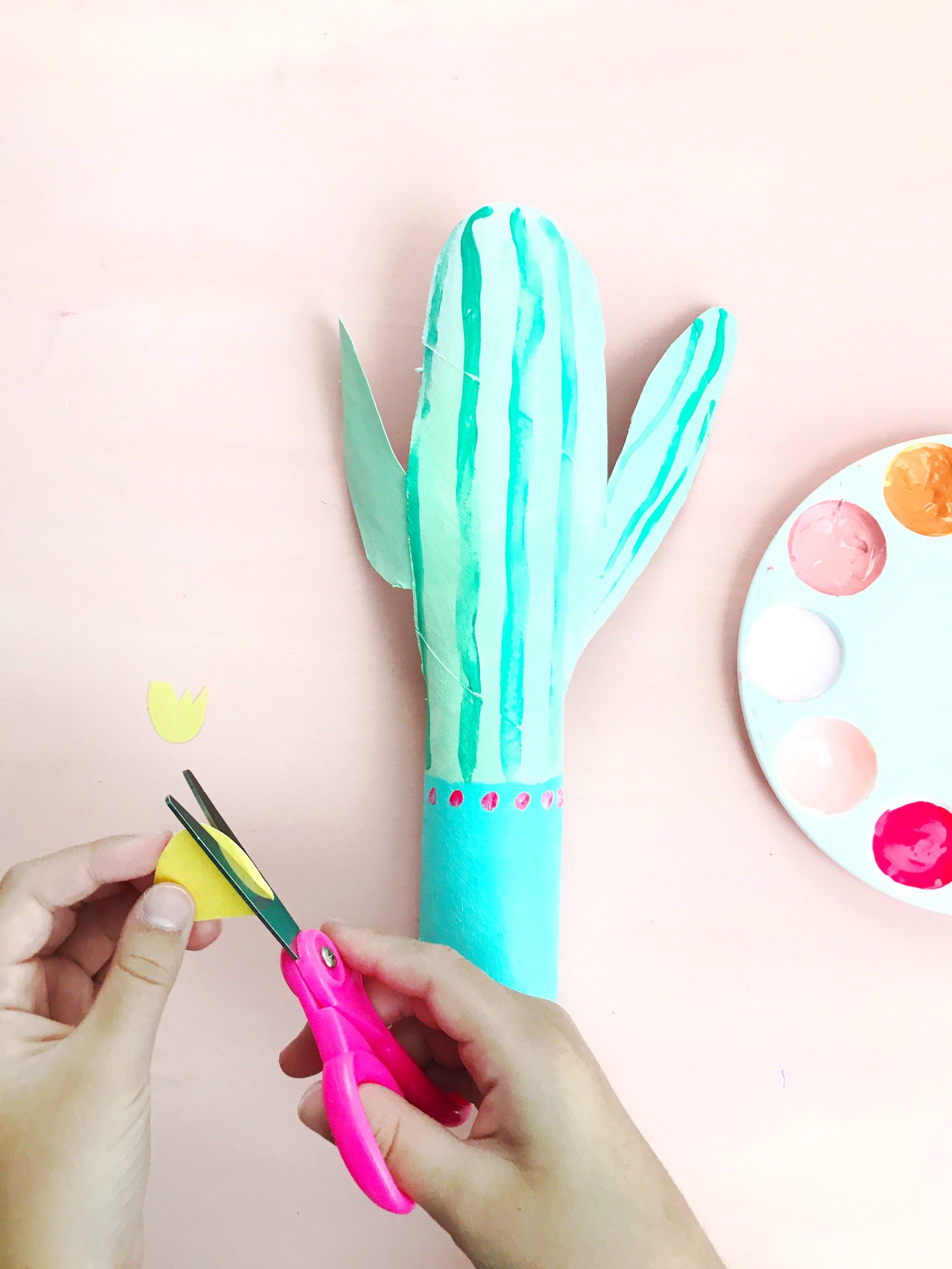 Paper Roll Cactus 3