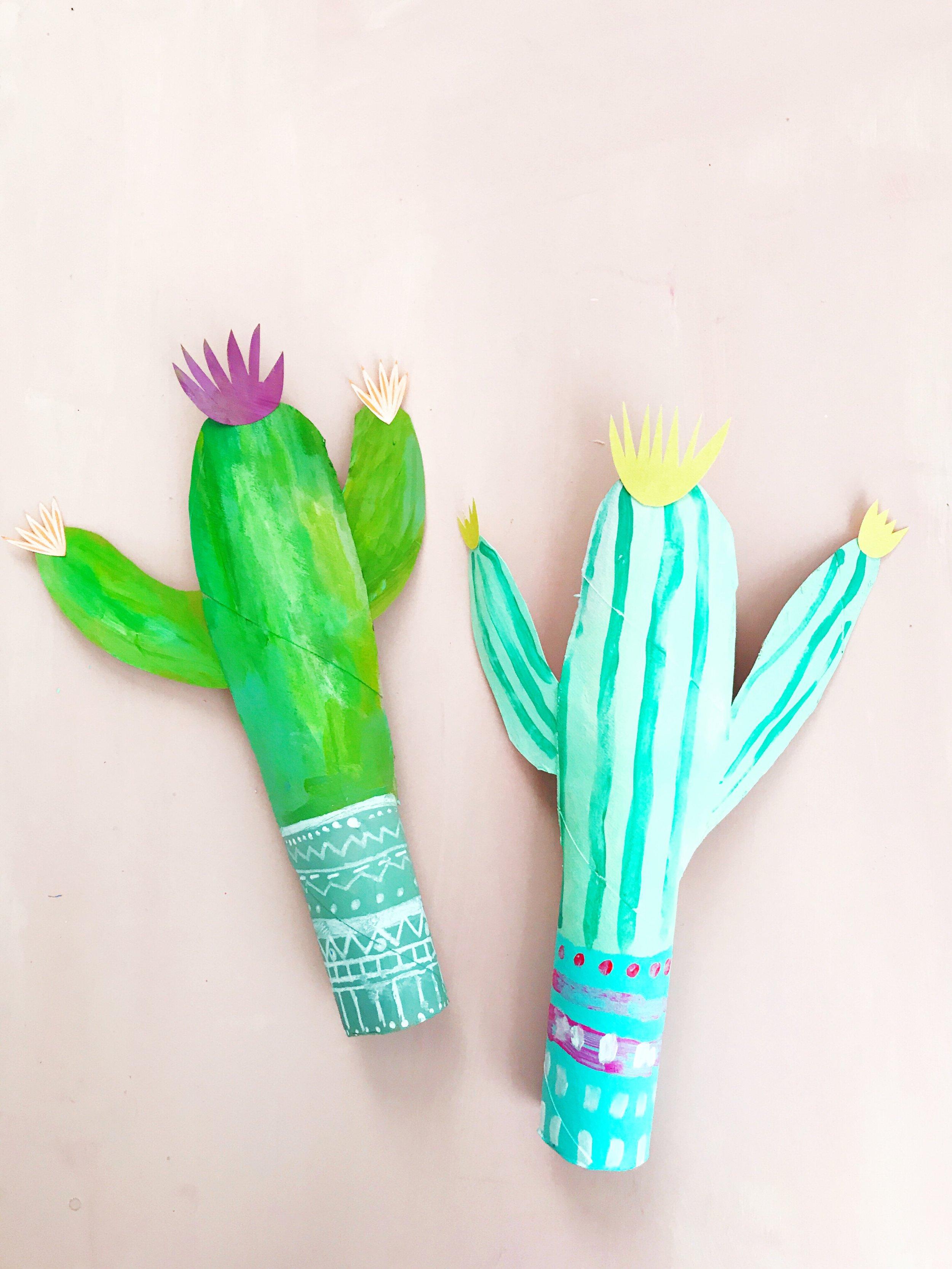 Paper Roll Cactus 4