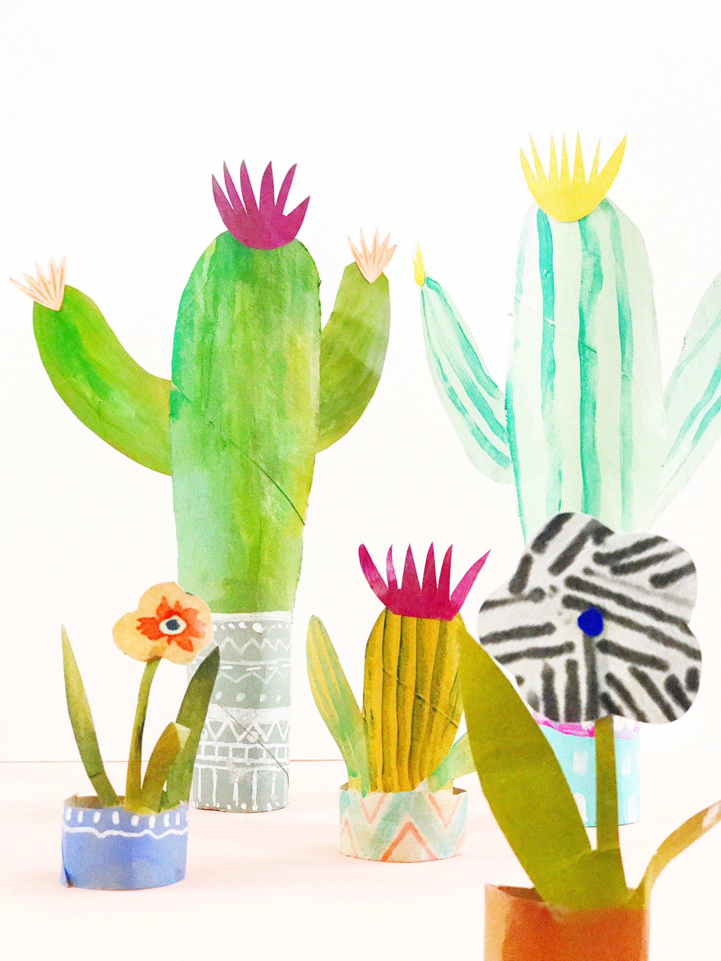 Paper Roll Cactus 5