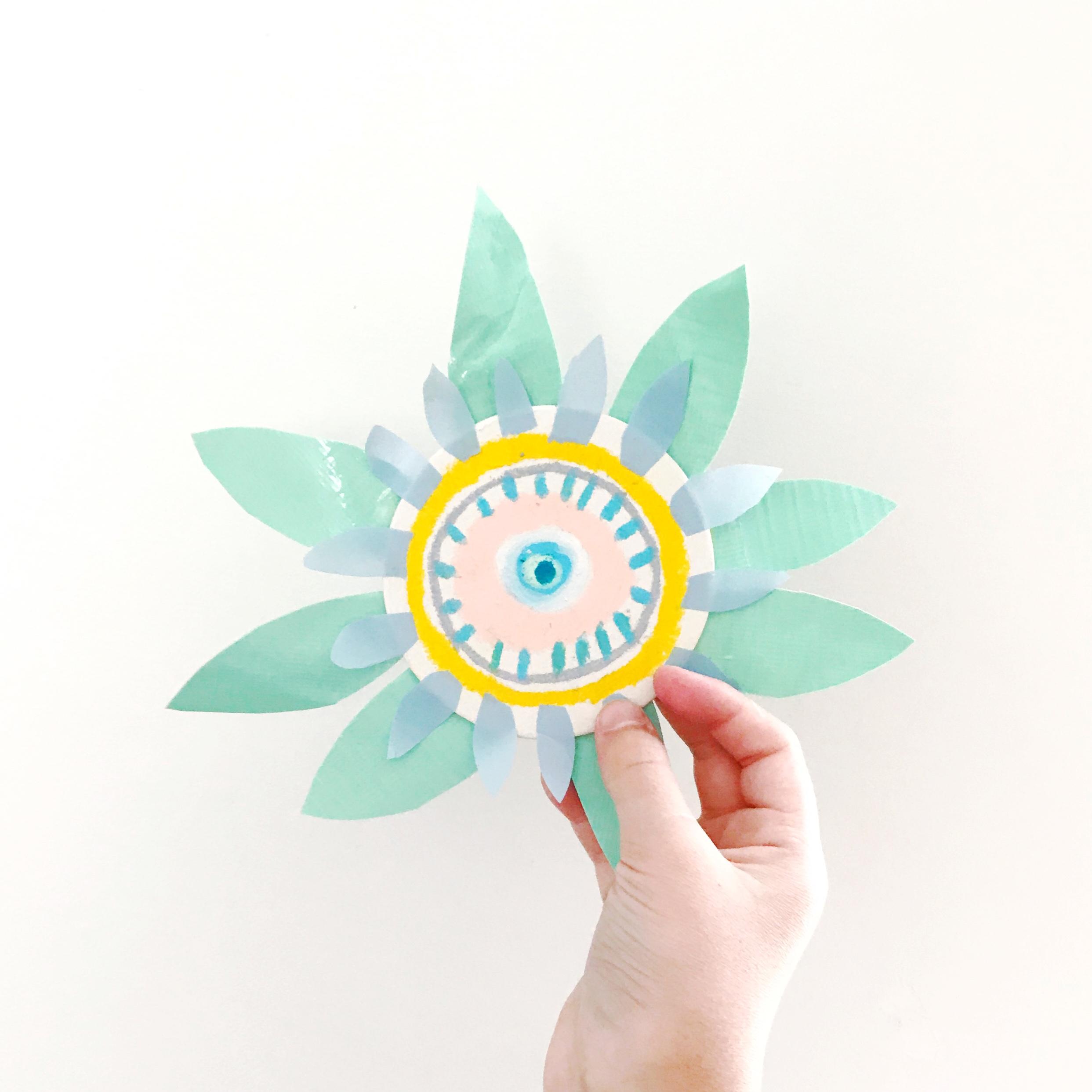 Sun Flower Puppet 9