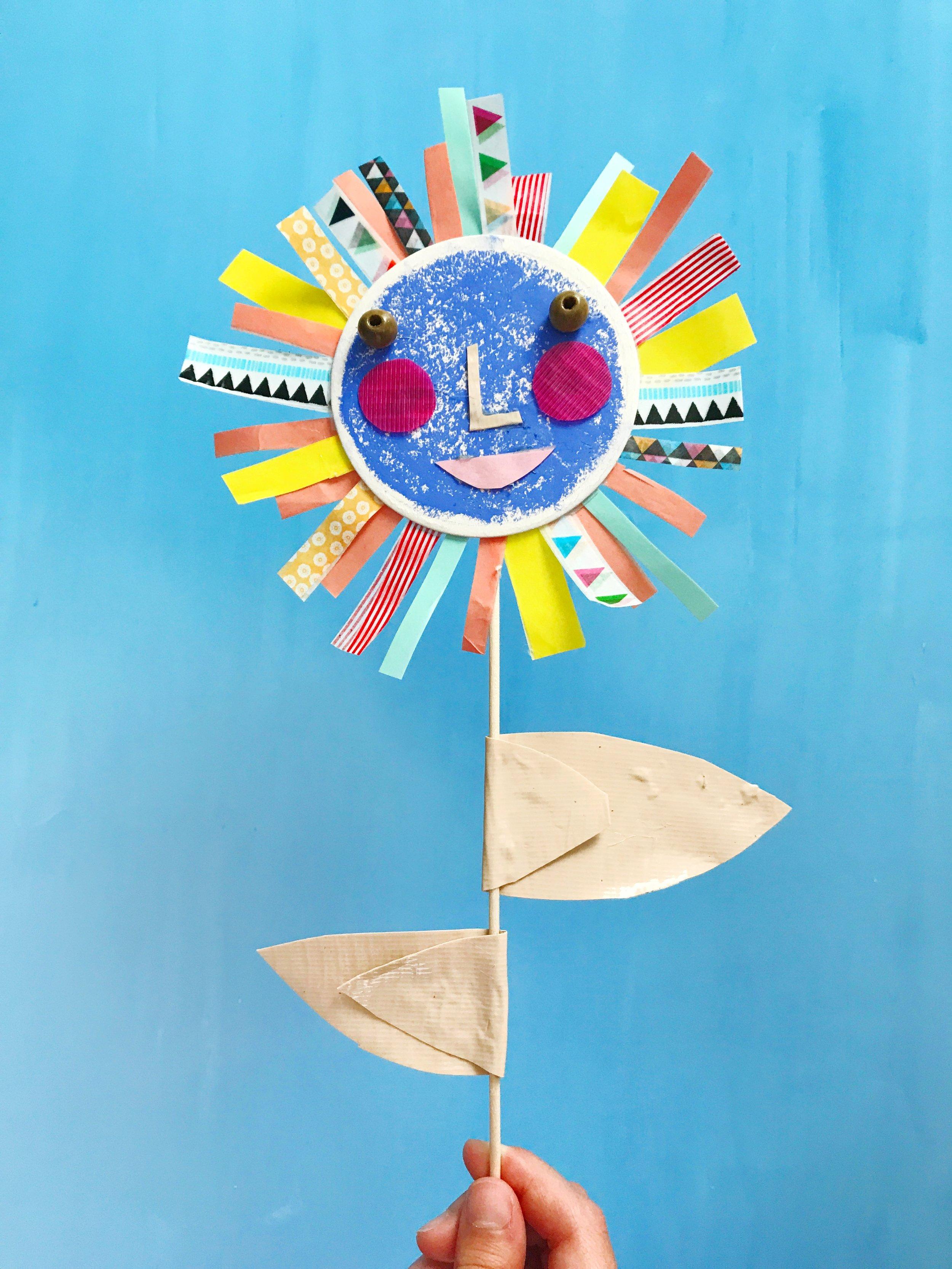 Sun Flower Puppet 15