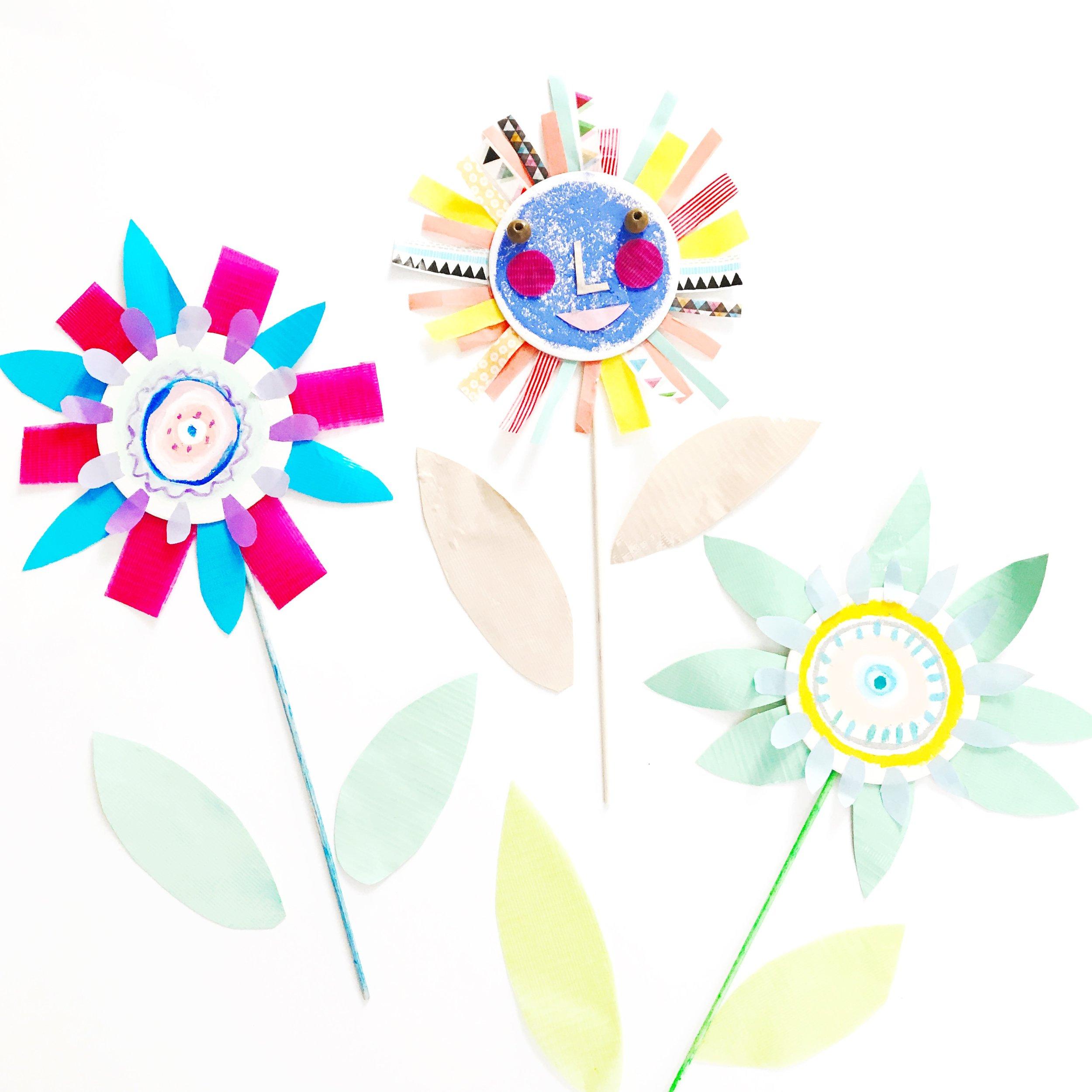 Sun Flower Puppet 11