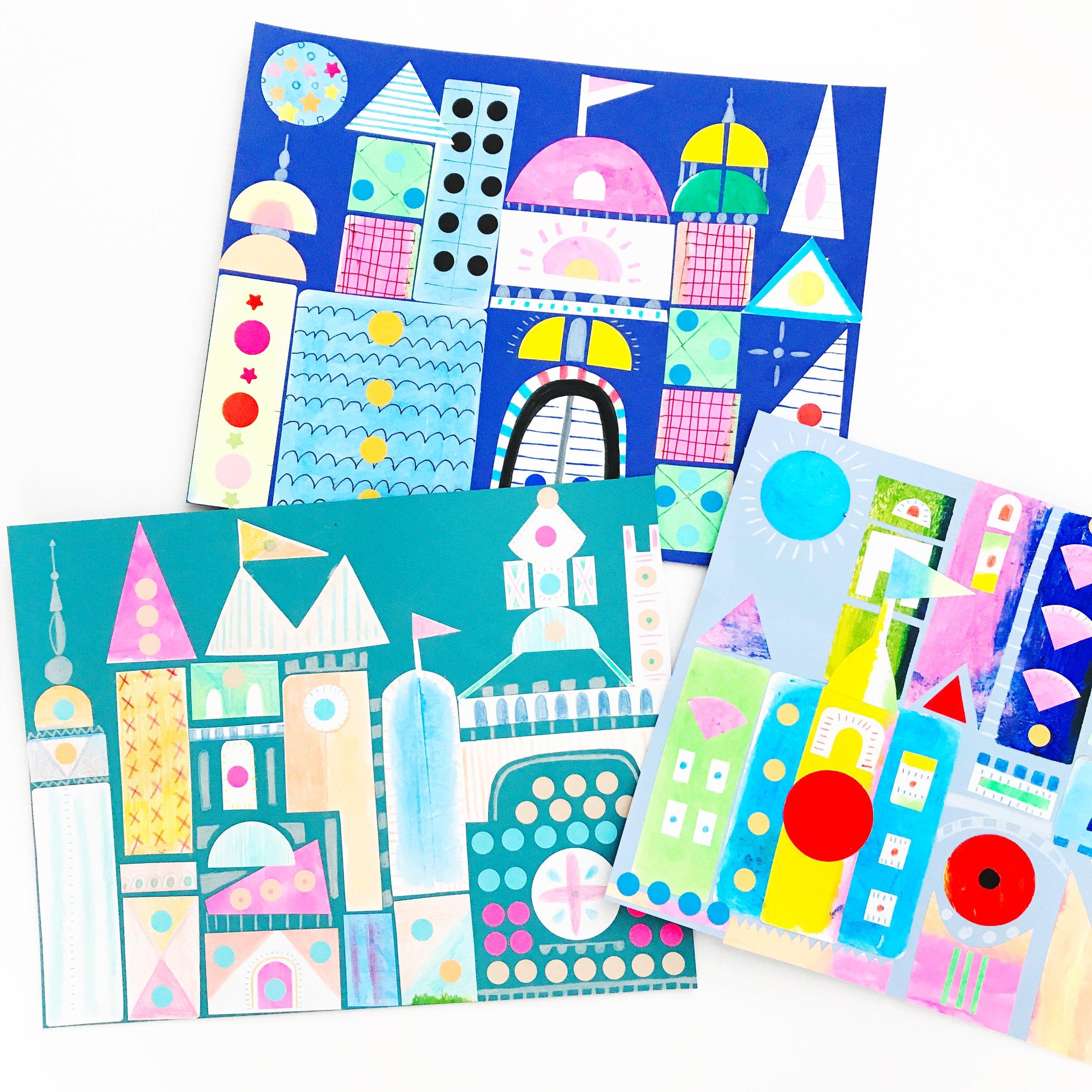 Sticker Castle 1