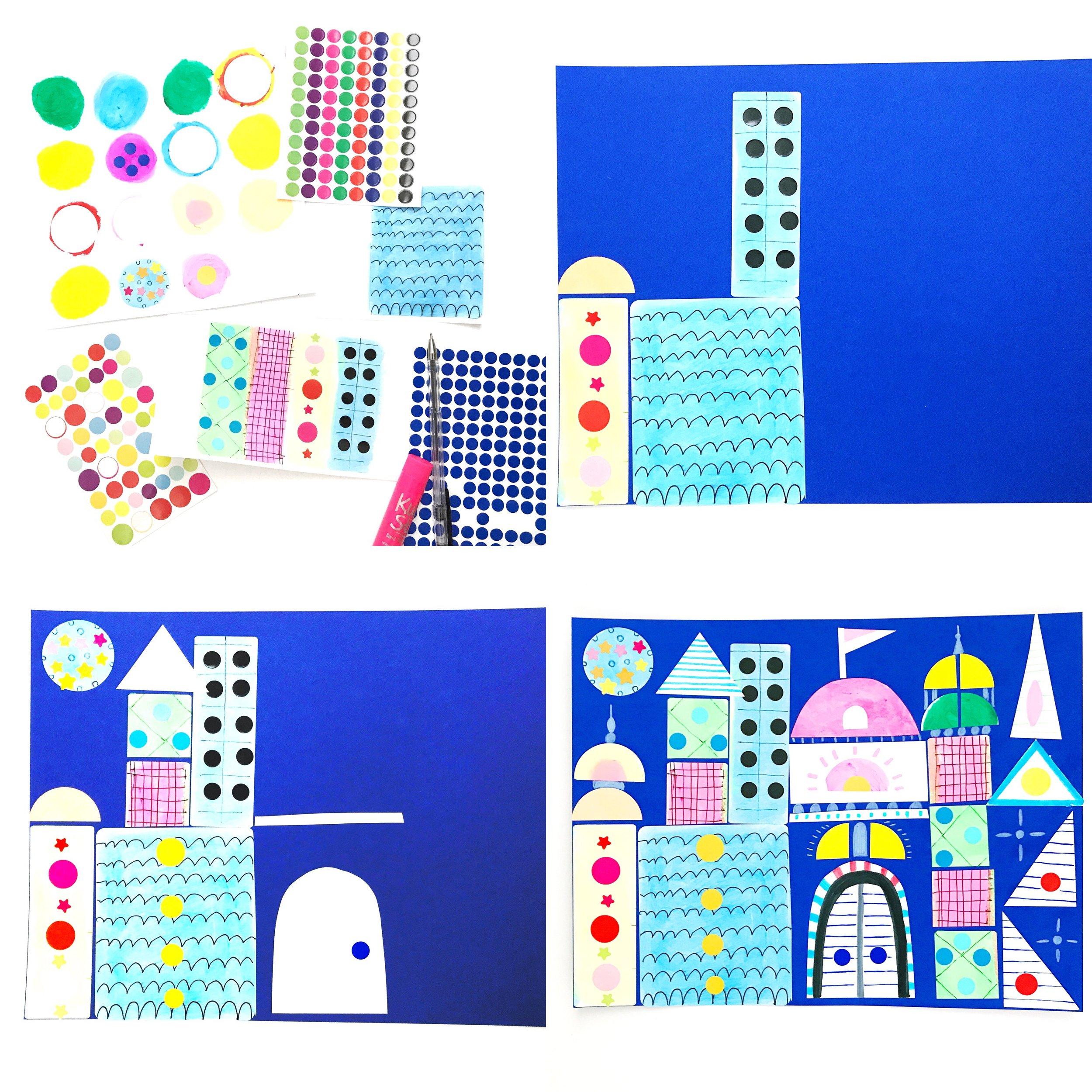 Sticker Castle 5