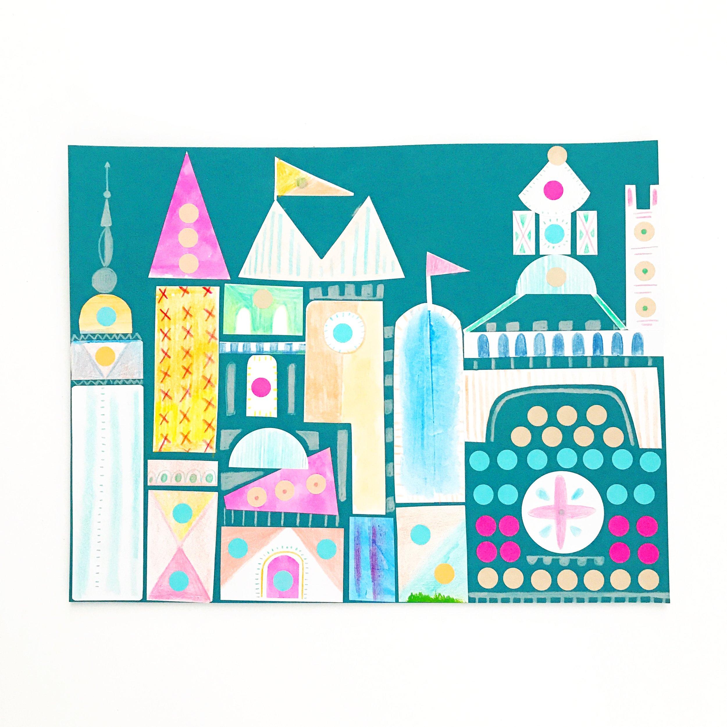 Sticker Castle 7