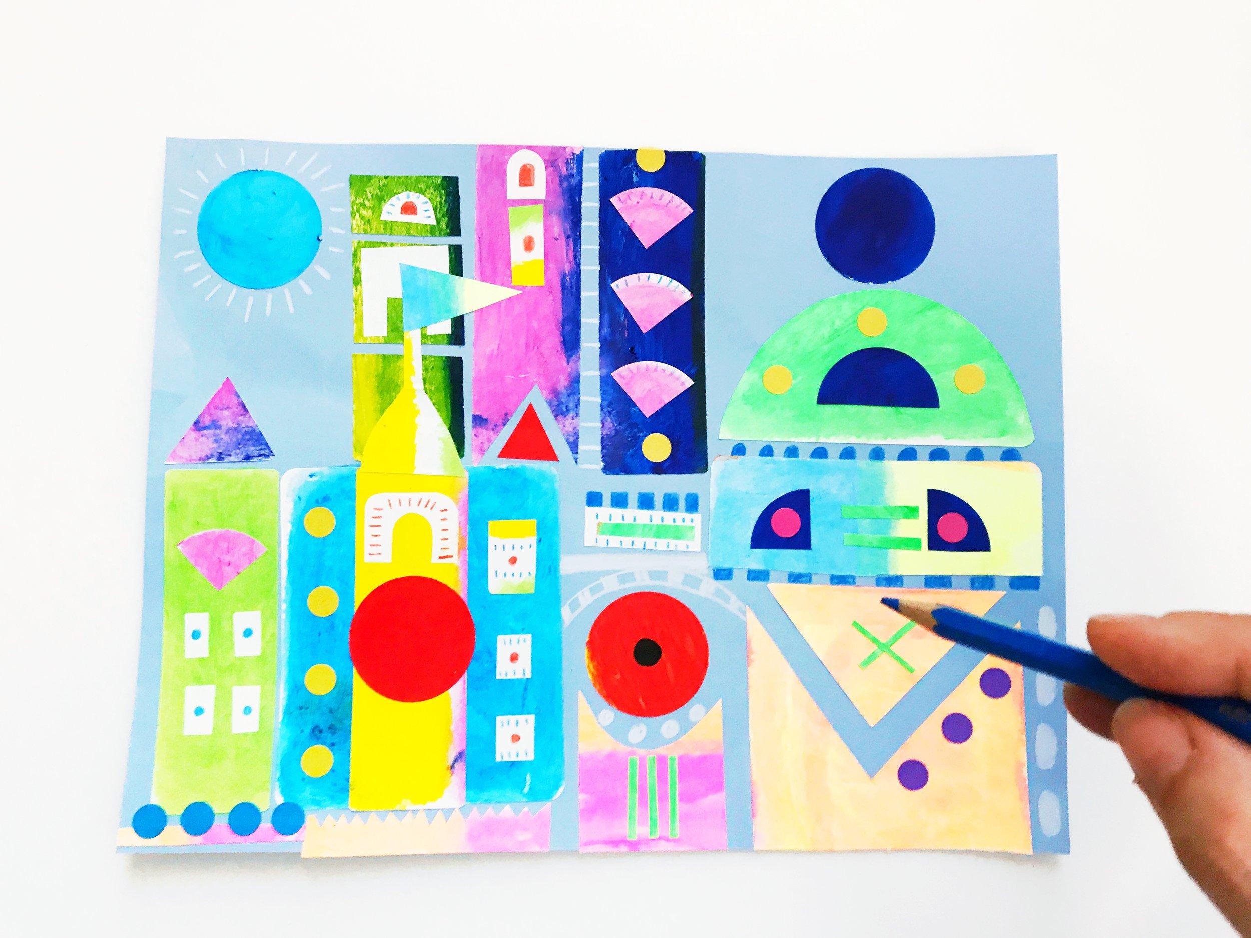 Sticker Castle 6