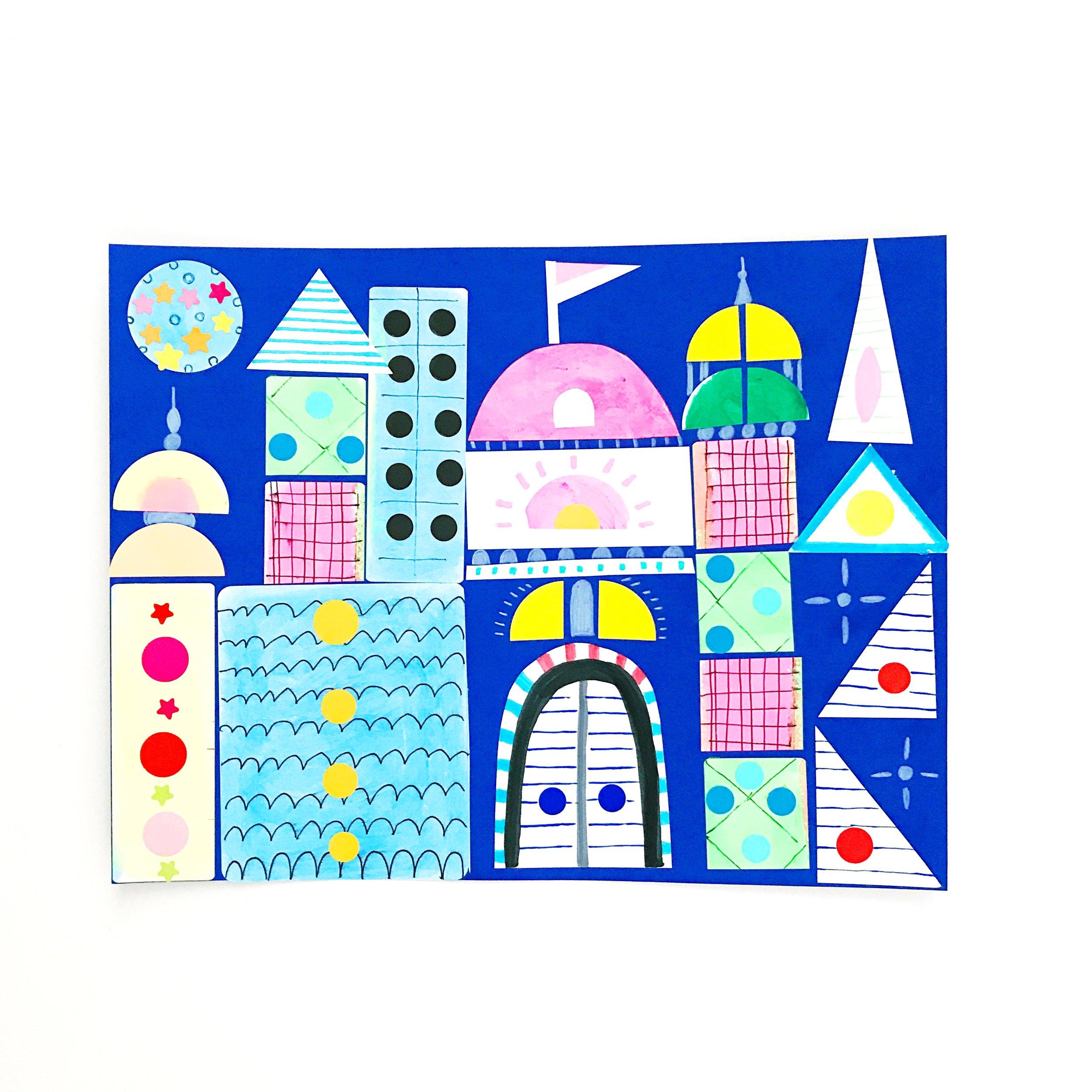 Sticker Castle 8