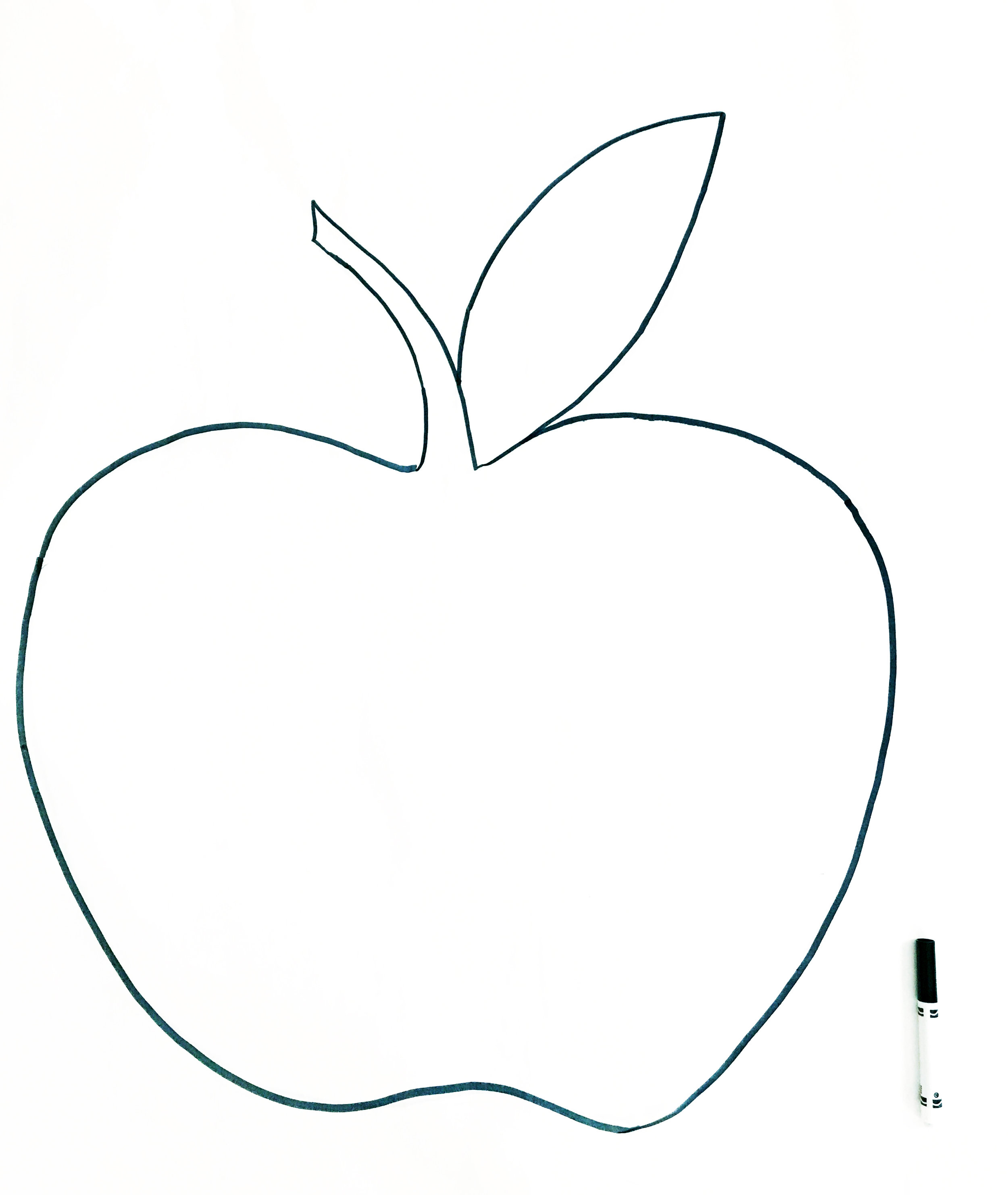 Big Pop Art Apple 3