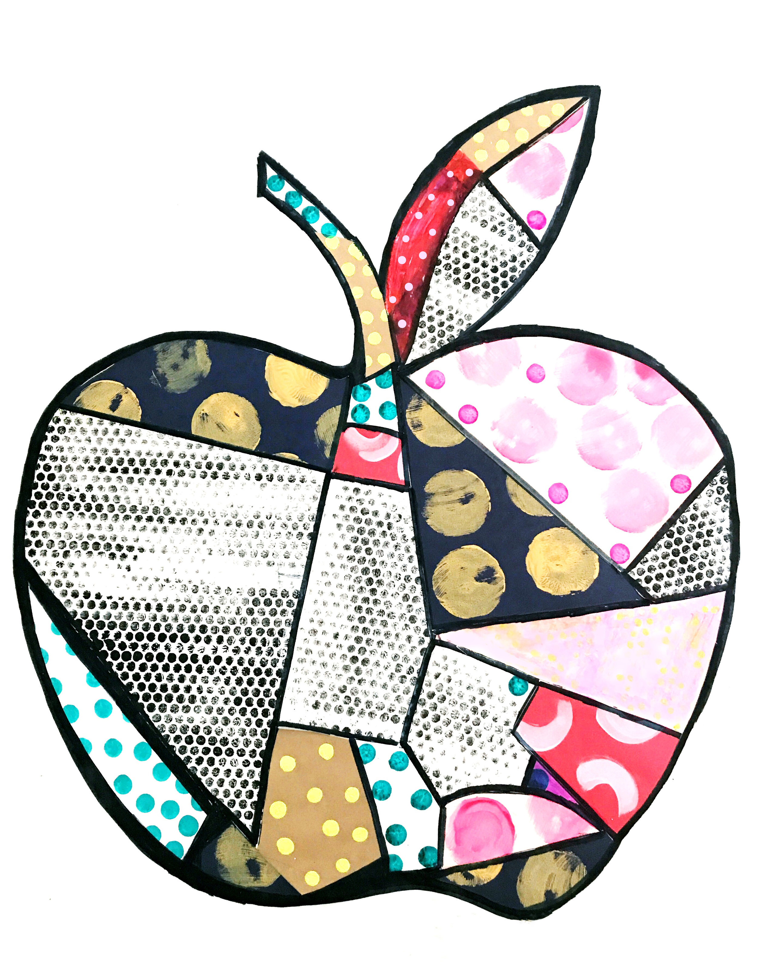 Big Pop Art Apple 9