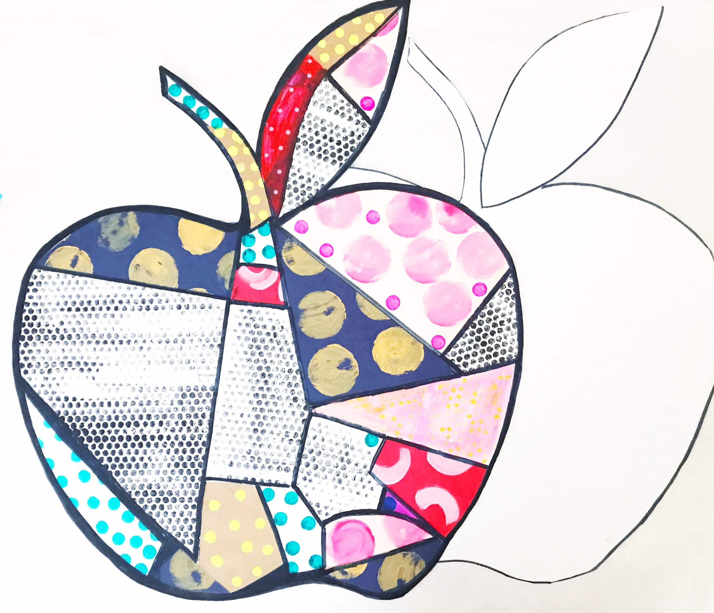 Big Pop Art Apple 10