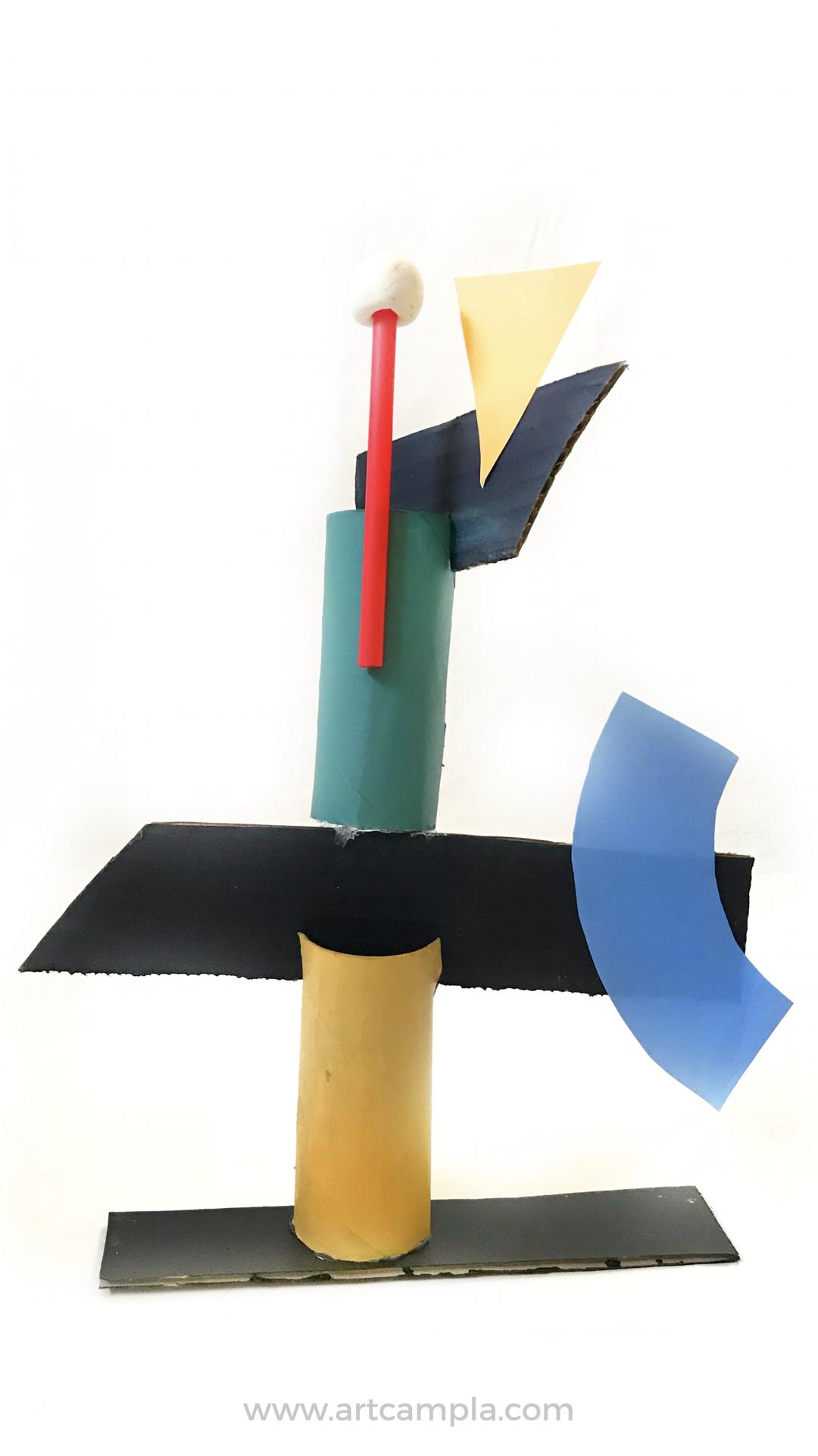 Miró Inspired Sculptures