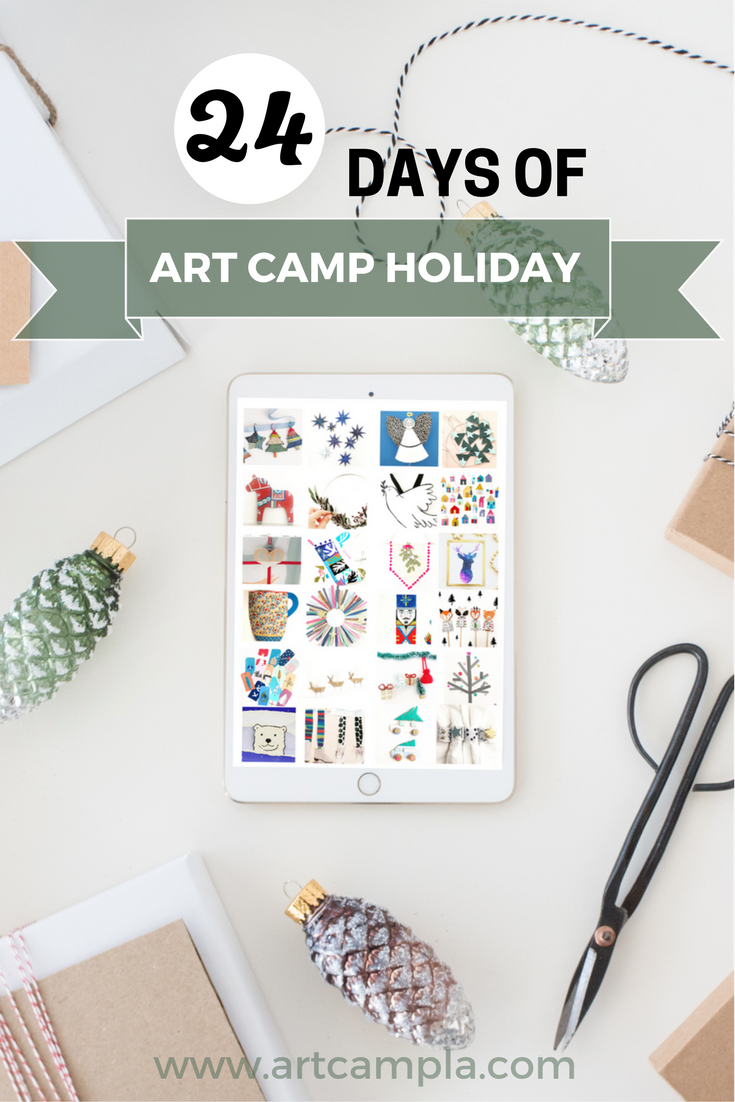 24 Days of ART CAMP Holiday eBook