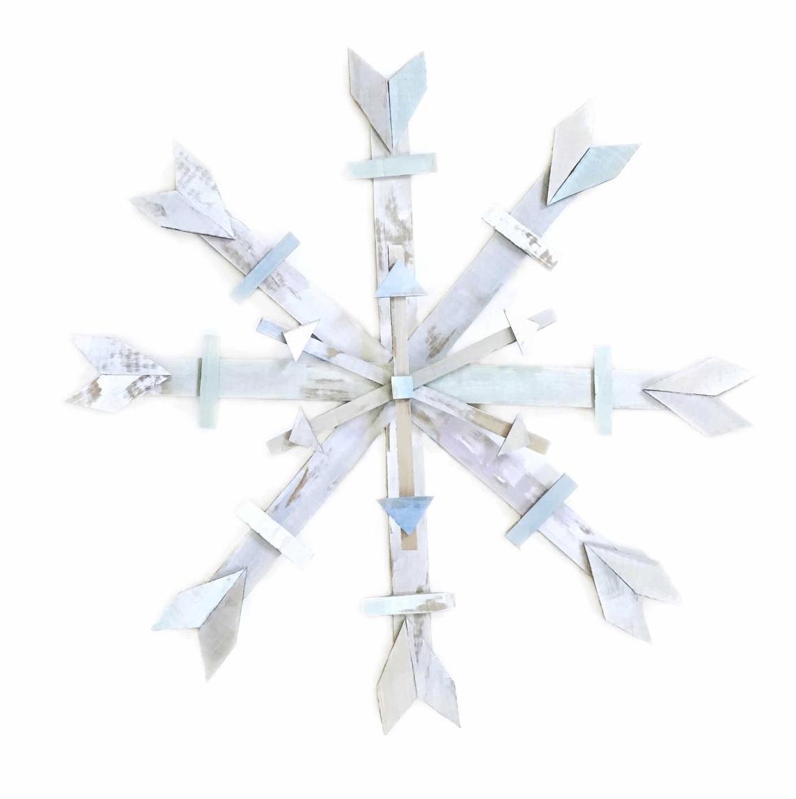 CARDBOARD SNOWFLAKE DIY