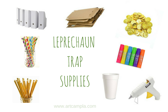 KID MADE LEPRECHAUN TRAP!