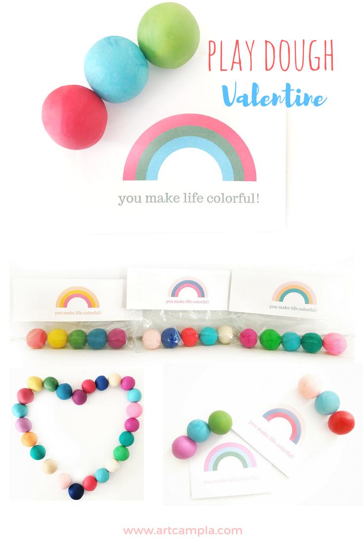 Play Dough Valentine