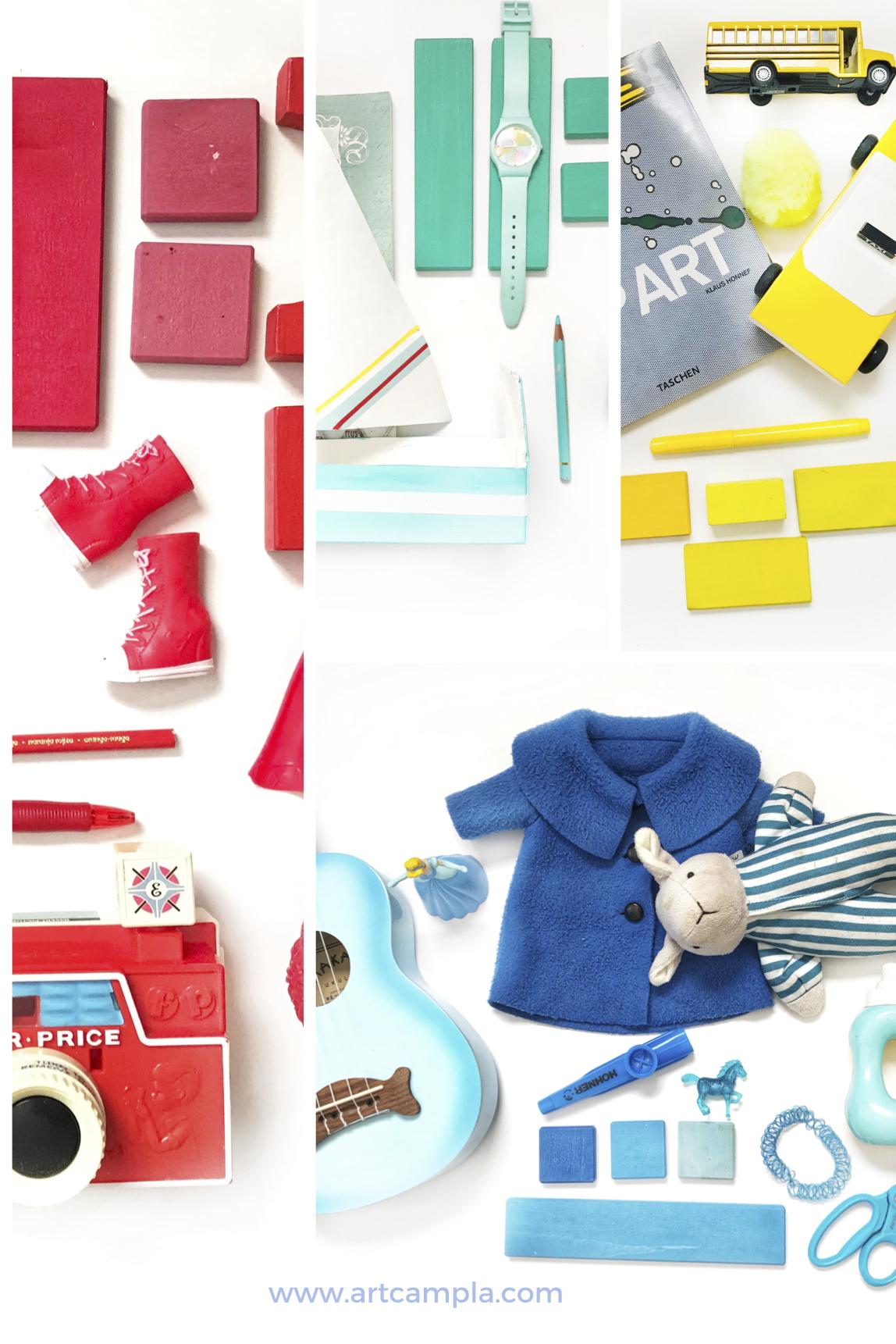 ART INVITATION FOR KIDS: COLOR + COMPOSITION BOARD