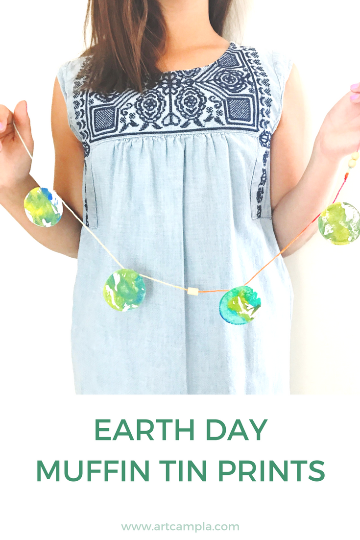 EARTH DAY MUFFIN TIN PRINTS
