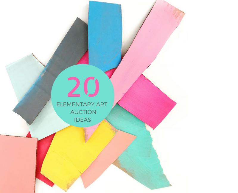 20 Elementary Class Art Project Ideas