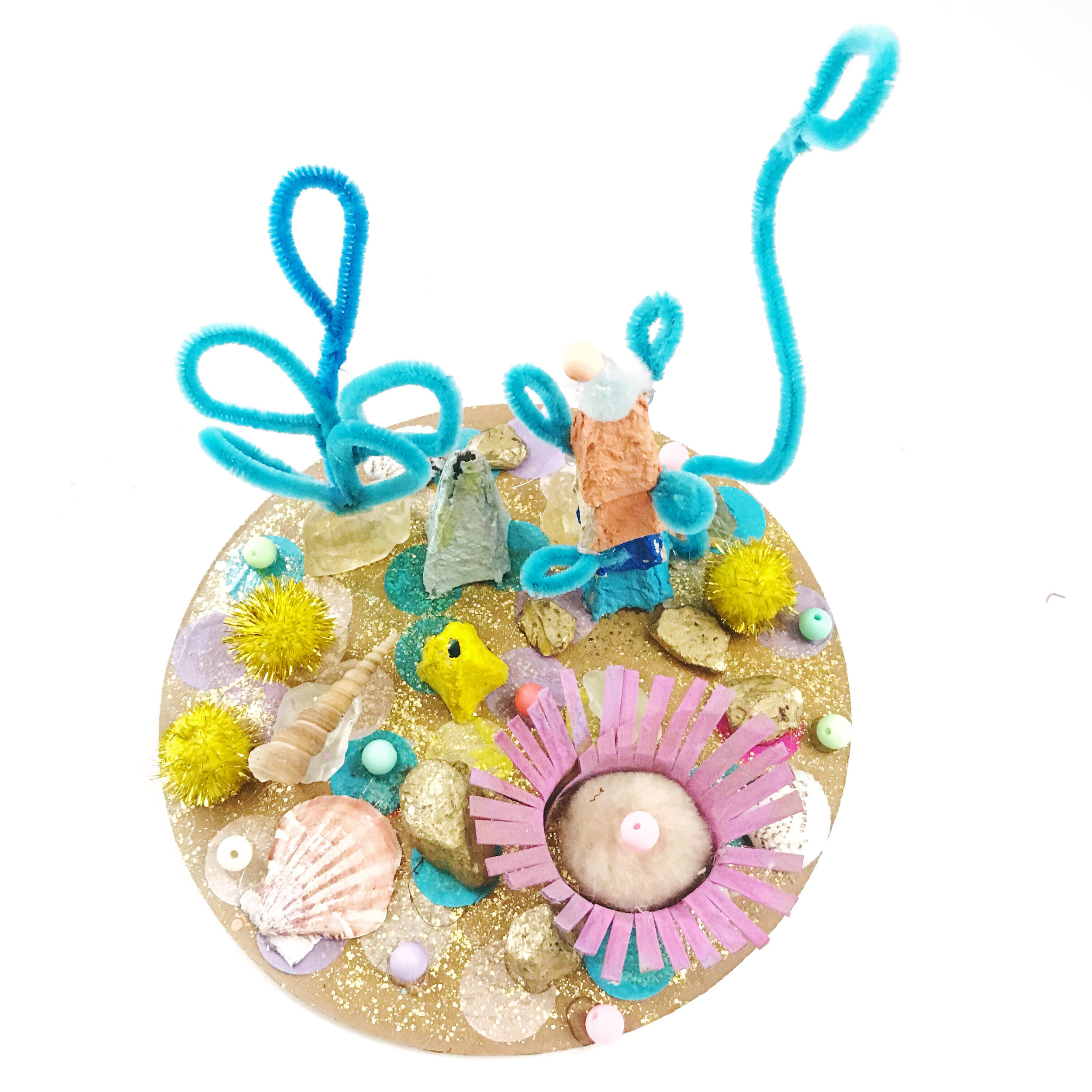 UNDER THE SEA ART PROJECT FOR KIDS