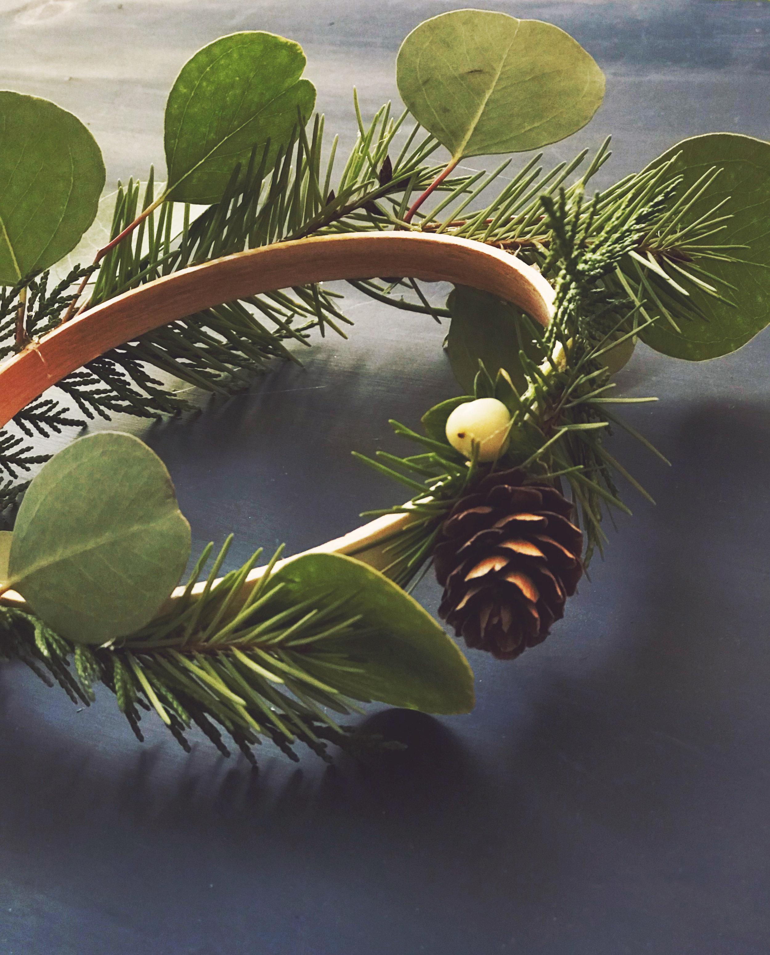DIY 3 Tier Chandelier Wreath