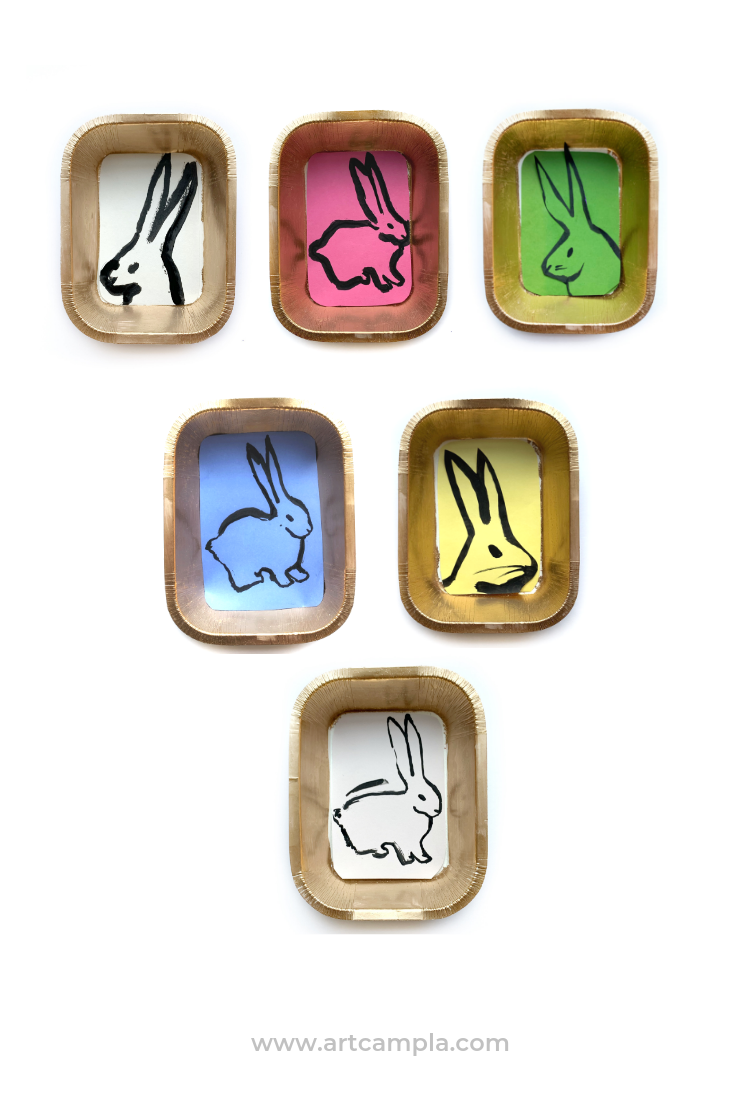 Framed Bunny Portraits