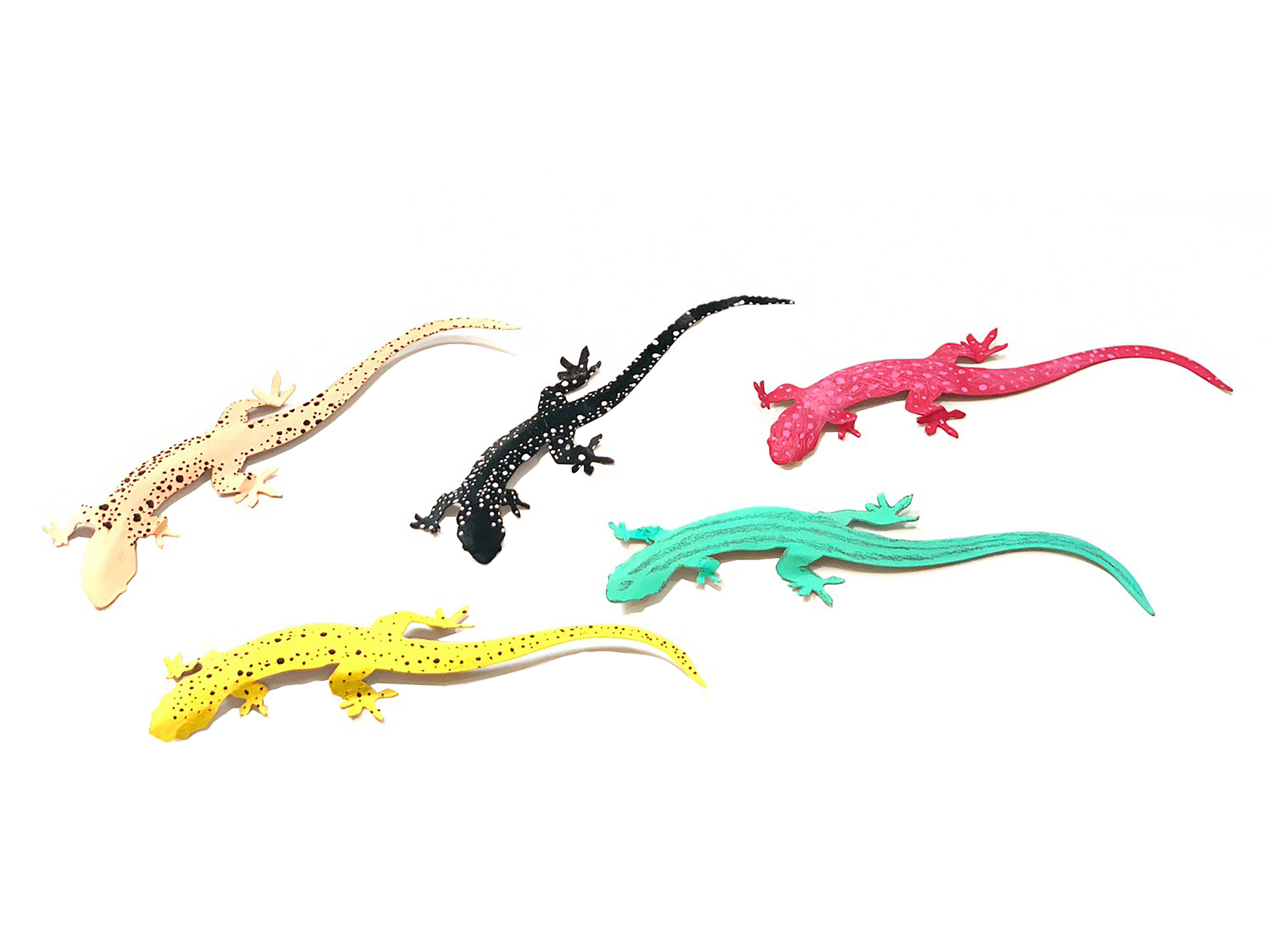 Up-Cycled Craft: Cereal Box Lizards