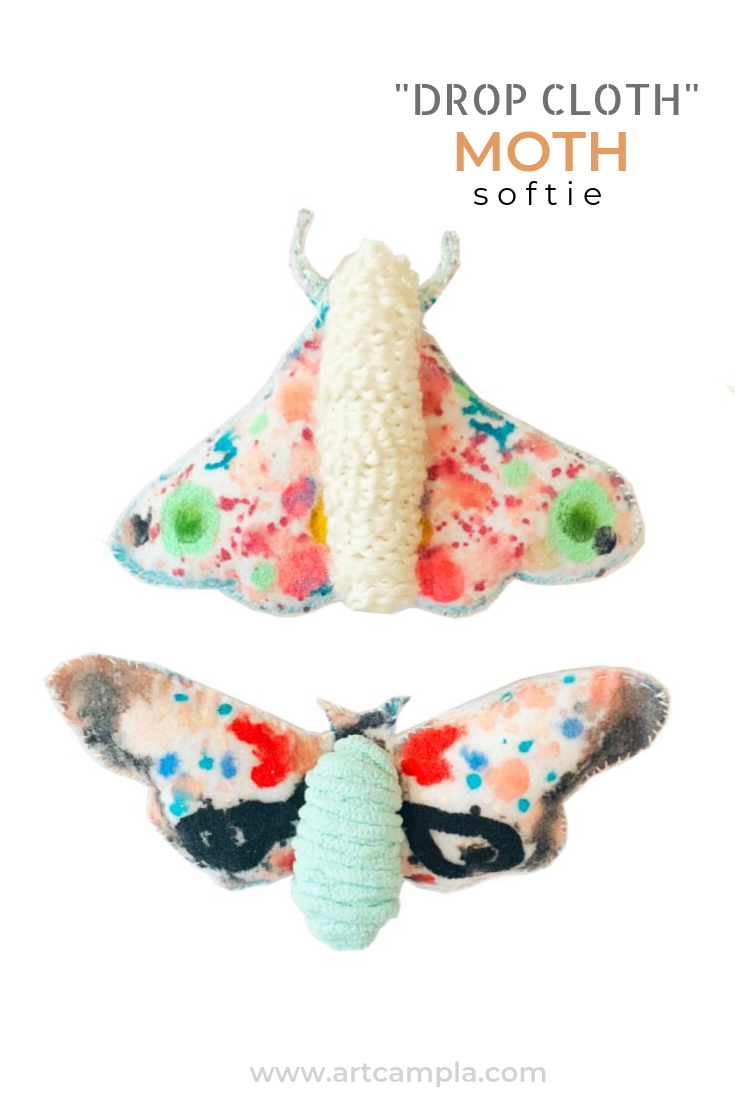PAINTED MOTH SOFTIE