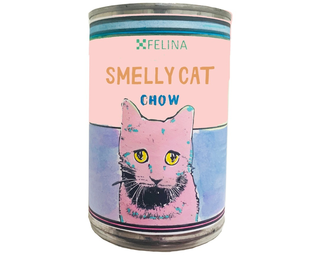 "MAKE YOUR OWN ""SMELLY CAT"" POP ART CAN!"