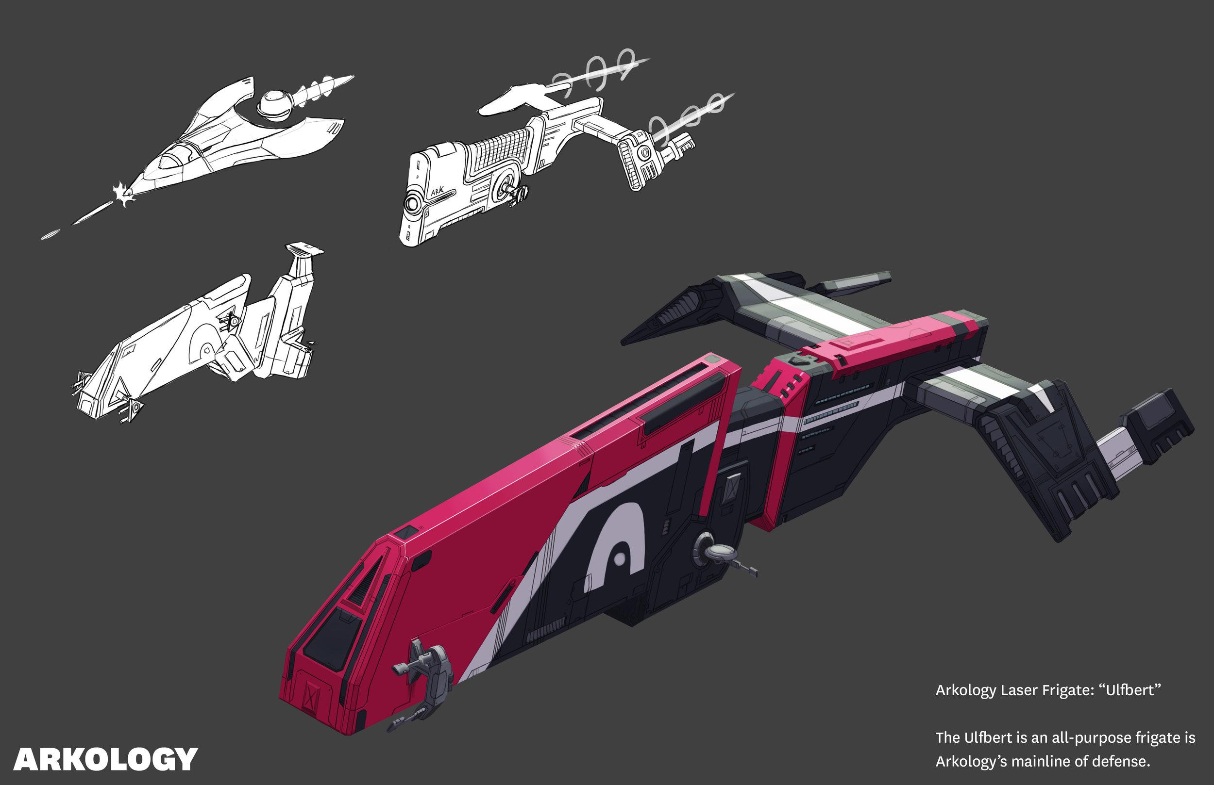 Laser Frigate