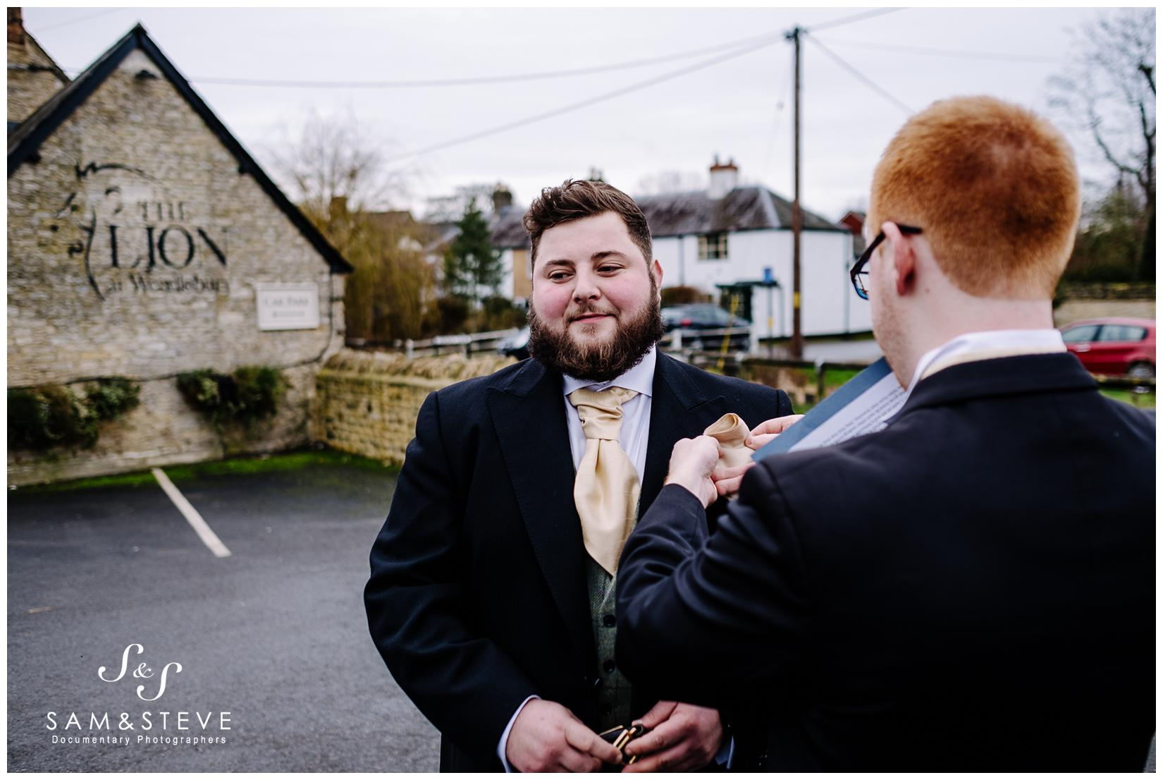 Wendlebury, Bicester Church Wedding of Millie and Nick