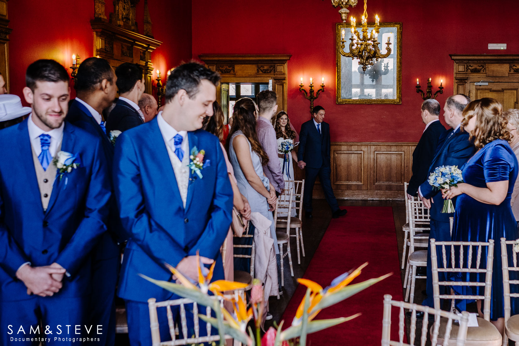 Eynsham Hall Wedding Photography of Lisa and Ash's wedding by Sam and Steve Photography