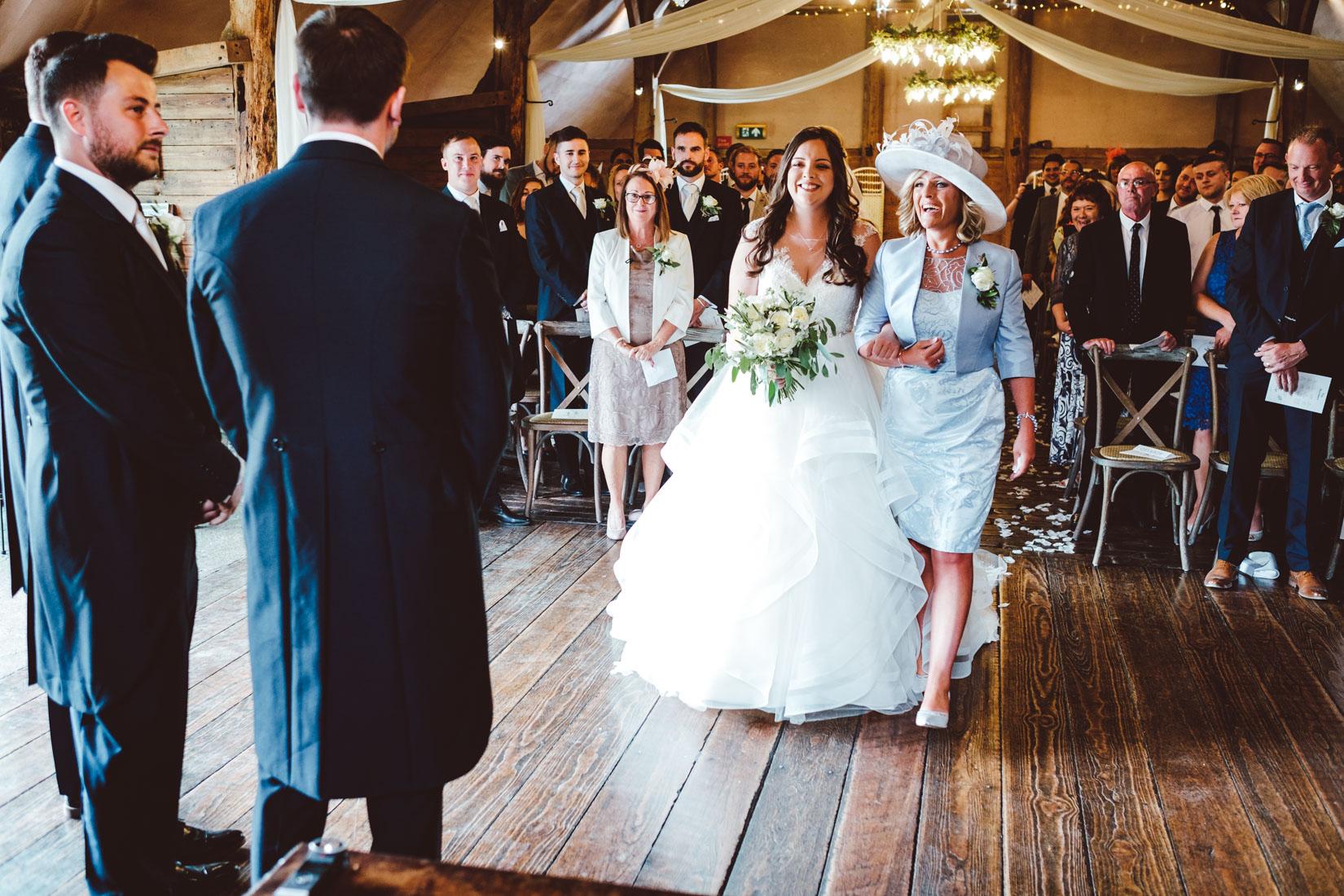Lains Barn Wedding Photography of the wedding of Jade and Joshua. Documentary style wedding photography by Sam and Steve Photography